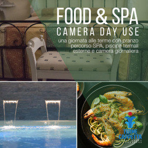food & spa, pranzo, percorso spa, piscine termali e camera in day use