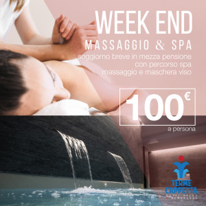week end massaggio con percorso spa