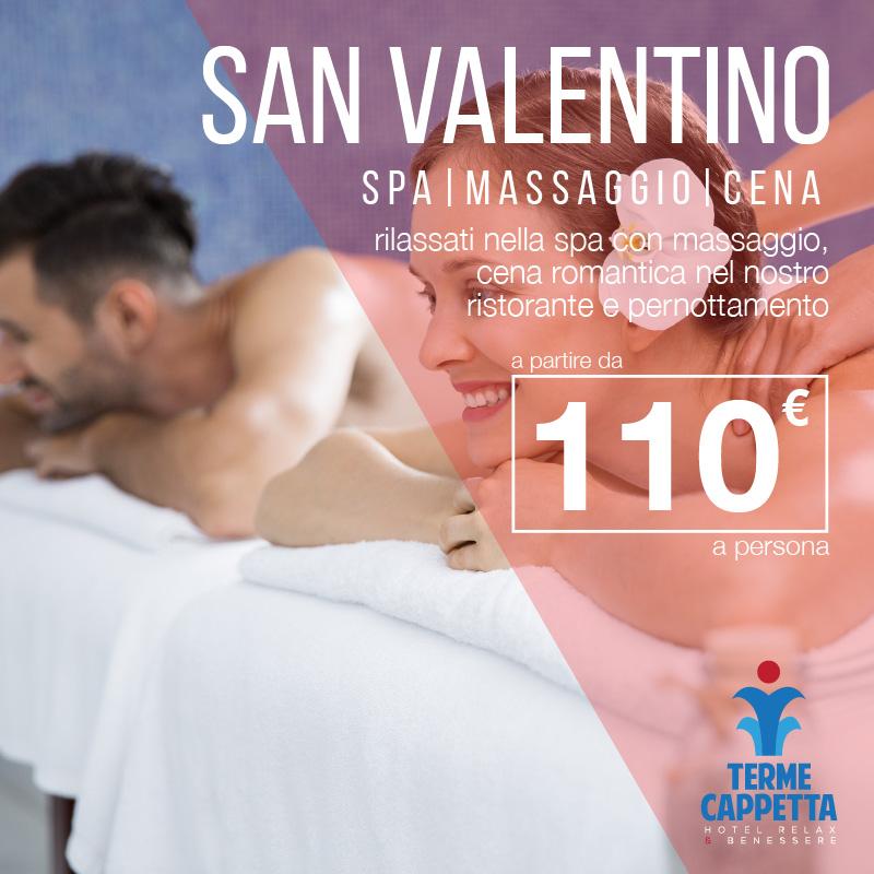 offerta san valentino spa massaggio cena terme contursi